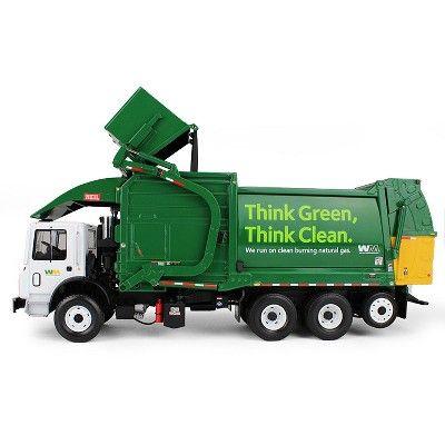 Mack Terrapro Waste Management Garbage Truck W Heil Half Pack Freedom Front End Loader Cng Tailgate Bin 1 34 First Gear Garbage Truck Truck Design Tailgate