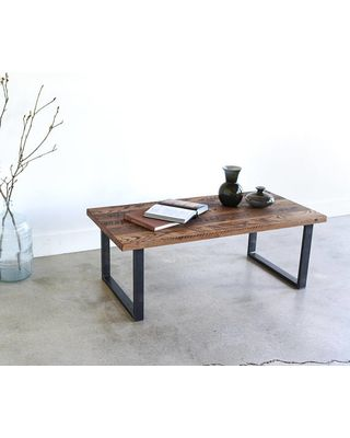 Pros Of Buying The Reclaimed Wood Coffee Table Metal Legs