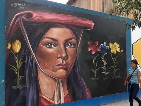 Zelva In Lima Peru 2018 Street Art Herrikopolis Arte Urbano