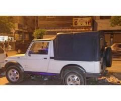 Suzuki Jeep Fully Maintained White Color Powerful Engine For Sale