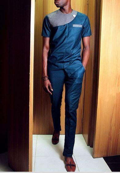 Les vêtements africains pour hommes-africaine