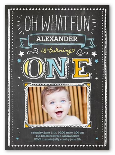 Kite inspired first birthday party #firstbirthday #invitations - invitation card for ist birthday