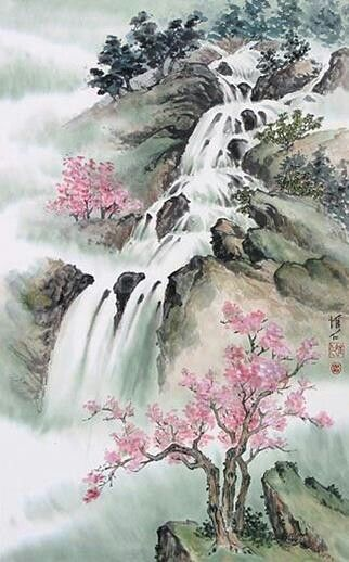 Pin By Crista Kowalski On Tattoo Ideas Chinese Landscape