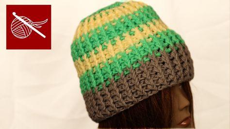 fa5c7a5354a Crochet Team Hat - How to Make Crochet Geek - YouTube