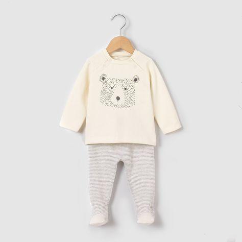 Комплект из пуловера и леггинсов, 0 мес. - 2 года серый меланж экрю R Mini    купить в интернет-магазине La Redoute 43ece281163