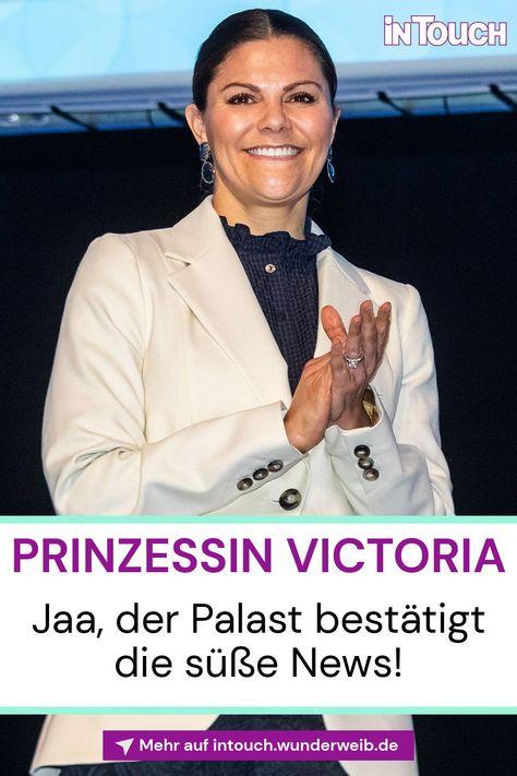 Jetzt ist es raus! Wie der Palast berichtet, schwebt Prinzessin Victoria aktuell im Glück! #prinzessinvictoria #royals #royalnews #stars #promis #prominews #intouch