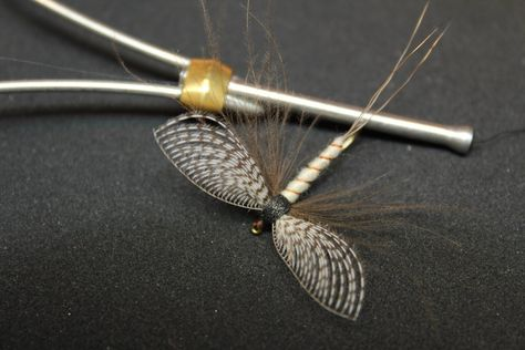 Photo of Spent Mayfly with Wally wing (dry fly)