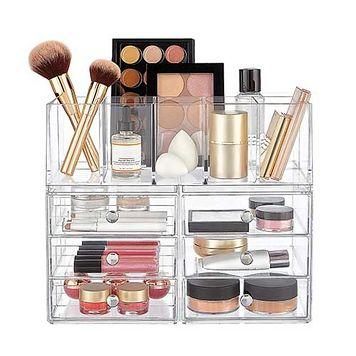 The Best Makeup Storage Ideas To Try Now Esp For Small Spaces Makeup Storage Makeup Storage Containers Makeup Storage Kit
