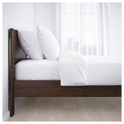 Ikea Songesand Brown Luroy Bed Frame Bed Frame Bed Frame With