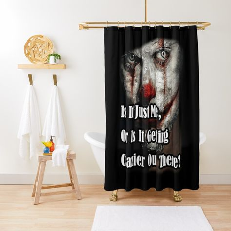 Crazy Joker Clown Quote Is It Just Me Or Is It Getting Crazier
