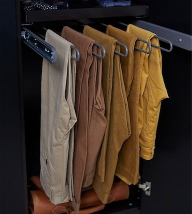 Crea Tu Propio Armario Para Dos Perchas Para Pantalones Percha Para Ropa Organizadores De Ropa