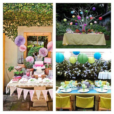 Décoration table anniversaire : 50 propositions pour l\'été | DIY ...