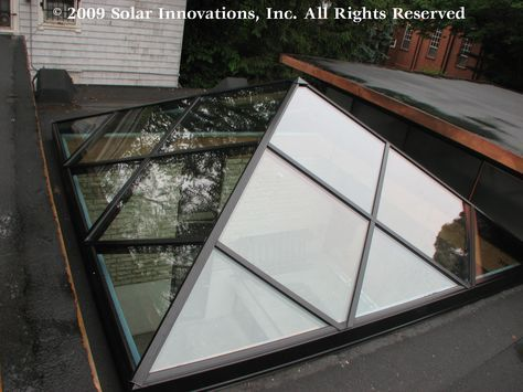 Solar Innovations Inc Completes Unique Skylight For Historical Yale Society