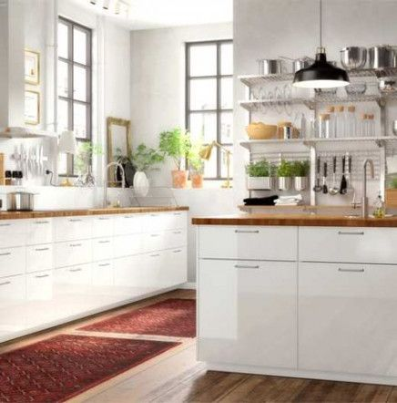 55 Ideas Kitchen Ikea Ringhult Red For 2019 Ikea Kitchen Inspiration Ikea Small Kitchen Kitchen Inspirations