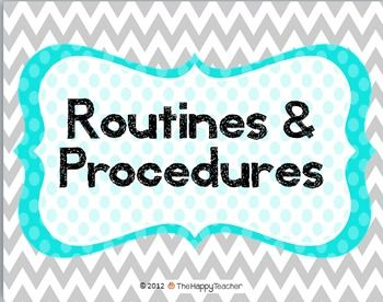 Use this PowerPoint during the first week of school to teach rules, routines, procedures, and expectations to your new students. The PowerPoint is completely editable and customizable. Just type in the text box! $
