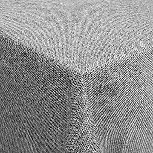 Tischdecke Tischtuch Leinenoptik Lotuseffekt Wasserabweisend Fleckschutz Eckig