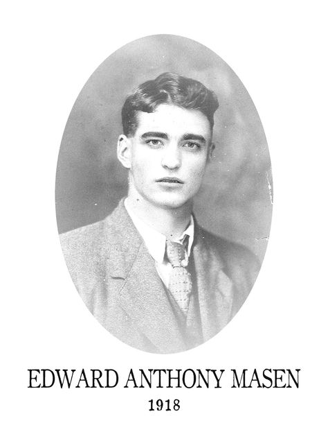 """anthony-masen: """" Edward Cullen from 1918 """""""