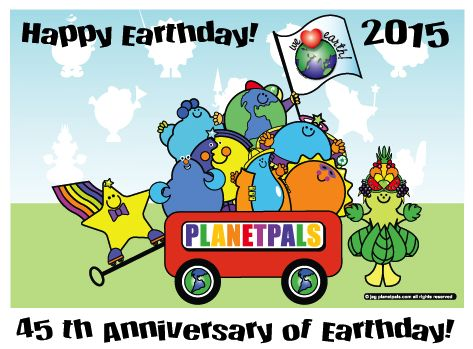 2015 is The 45th Anniversary of Earthday!