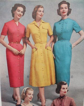 1950s Pencil Dresses Wiggle Dress Styles Cocktail Dress Vintage Fifties Fashion Prom Gowns Vintage