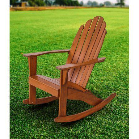 Patio Garden Adirondack Rocking Chair Rocking Chair Wood