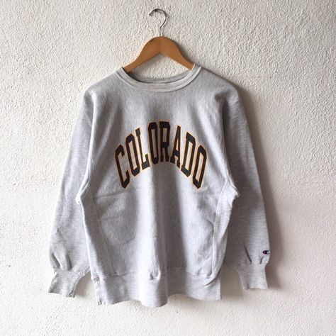 a62b66d2f176 Excited to share this item from my  etsy shop  Vintage 90s Champion  Colorado Spellout