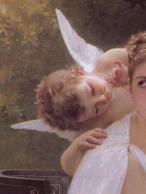 Angel-scarlett: Le Travail Interrompu by William Adolphe Bouguereau, 1891 - Adolphe angel-scarlett: Bouguereau, Interrompu Travail William 826410600358177995