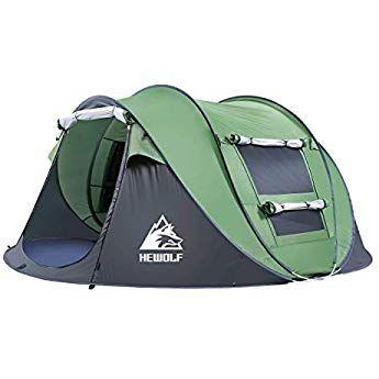 HEWOLF Automatic Pop Up Tents 2 4