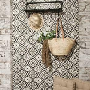 Carrelage Imitation Carreaux De Ciment Sol Mur Credence Salle D