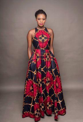 Oye Dress African Maxi Dresses African Maxi Dress Ankara African Fashion Dresses