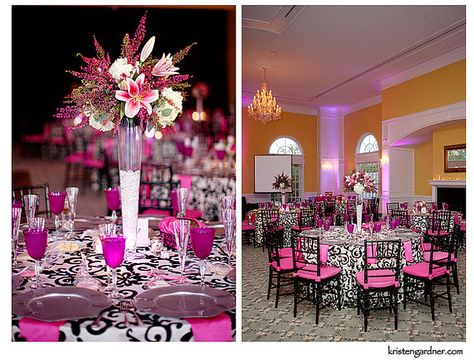 Pink And Black Wedding At Foxchase Manor In Manassas Va Www