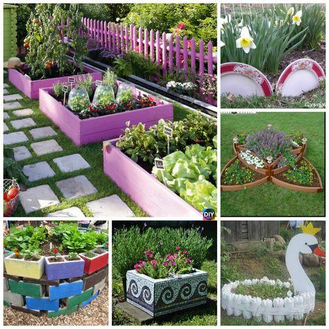 Most Beautiful Diy Garden Planter Ideas
