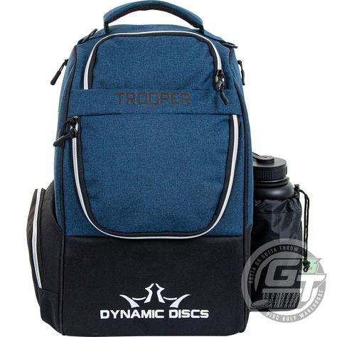 Dynamic Discs Trooper V2 Backpack Disc Golf Bag - Midnight Blue / Black