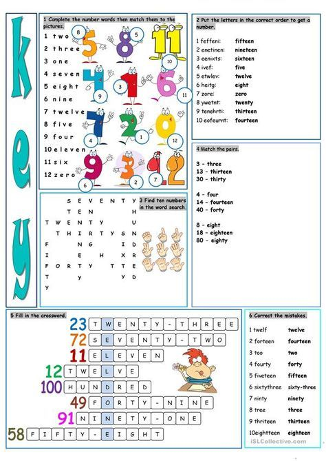Let S Have Fun With Numbers Learning English For Kids English Lessons English Classroom