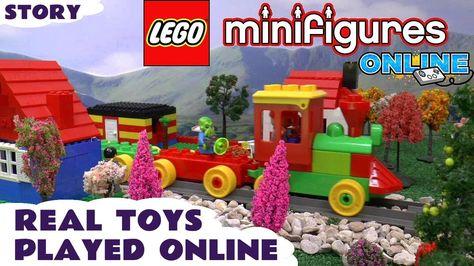 Lego Minigures Online Duplo Toy Train Intel Let S Play Blind Bag O Toys Toy Train Blind Bags