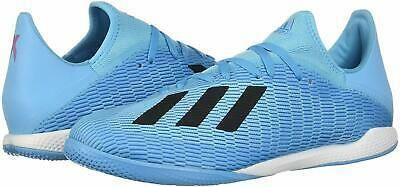 Adidas Mens X 19 3 Indoor Soccer Shoe Black Size In 2020 Black Shoes Soccer Shoe Adidas Men