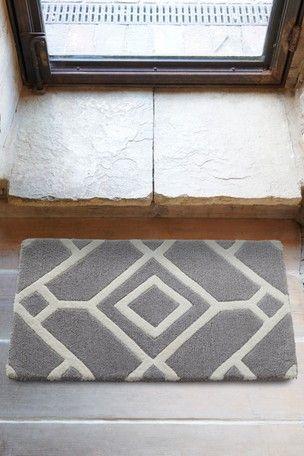 Indoor Lattice Grey Doormat Indoor Door Mats Door Mat Front Door Mats