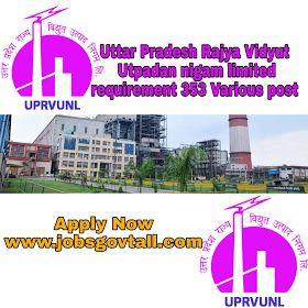 Uprvunl Recruitment 2020 353 Posts Of Enginners Nurse Technician