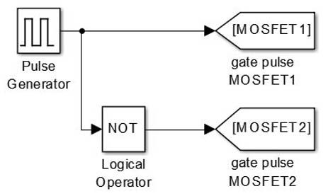 Gate Pulse Generator for MOSFET 1&2 in 2019 | Circuit ... on
