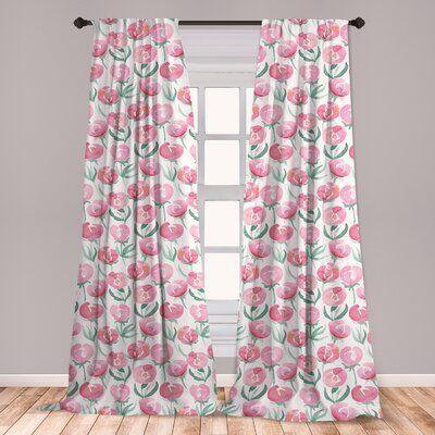 Pin By Manali Sharma On Cool Rugs Polka Dot Room Rod Pocket Curtain Panels Floral Room