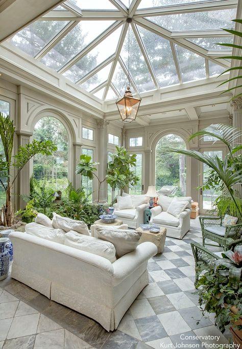 Kurt Johnson photography - Tumblr - elegant conservatory