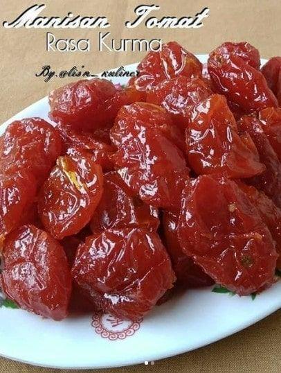 Resep Manisan Tomat Rasa Kurma Resep Resep Makanan Makanan