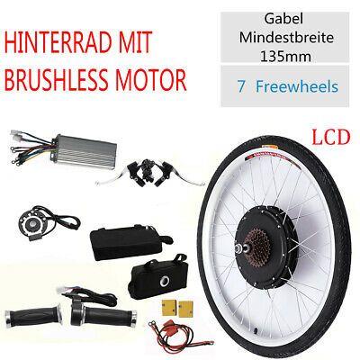 "36V Electric Bicycle E-Bike 26/"" 250W Rear Wheel Conversion Kit Cycling Motor LCD"