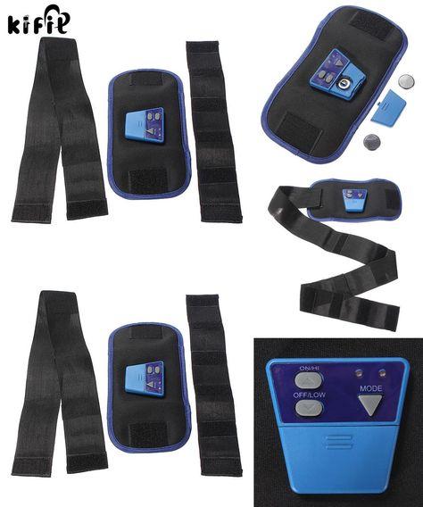 AB Gymnic Electronic Body Muscle Arm leg Waist Abdominal Massage Exercise Toning