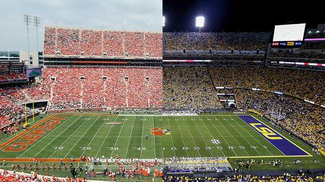 College Ball Show Lsu Vs Clemson Preview Banter Predictions In 2020 Lsu Clemson Ncaa College Football