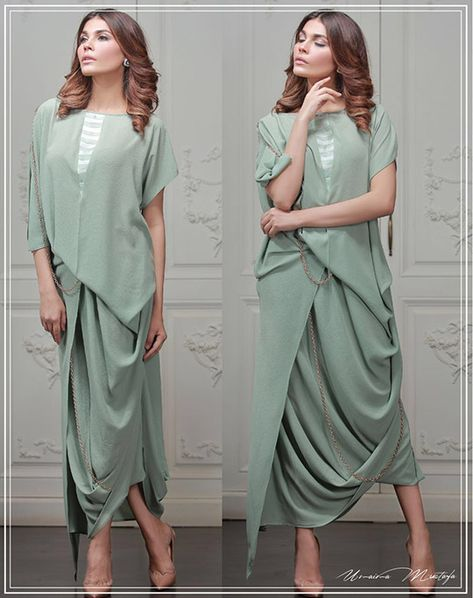 Drape Hem Dresses Fashion Trend for Ladies – Designers Outfits Collection