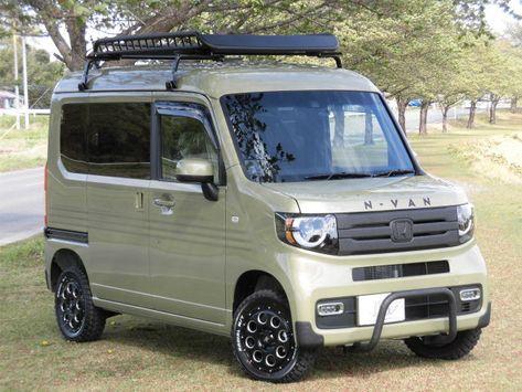 ホンダn Vanのワイルドなアウトドアカスタムにもline X塗装がおススメ 一般的な塗装では表すとこが出来ない質感はアゲ系カスタムによく似合います ホンダ N 軽バン バン