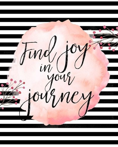 Find joy in your journey 8x10 instant download | Etsy