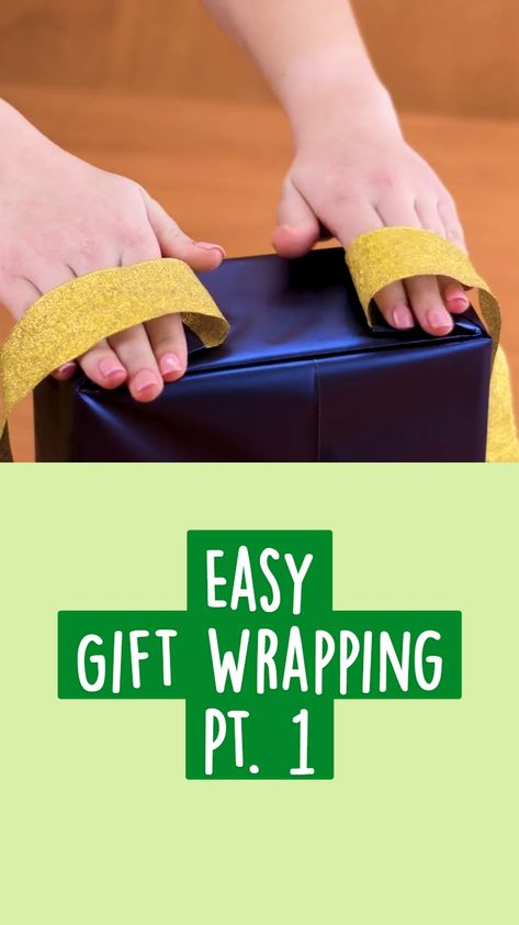 Easy  Gift Wrapping  Pt. 1