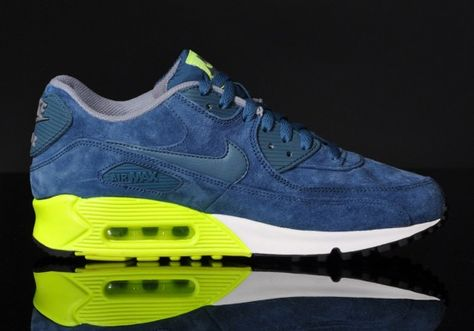 Nike Air Max 90 Premium(Night Factor Volt