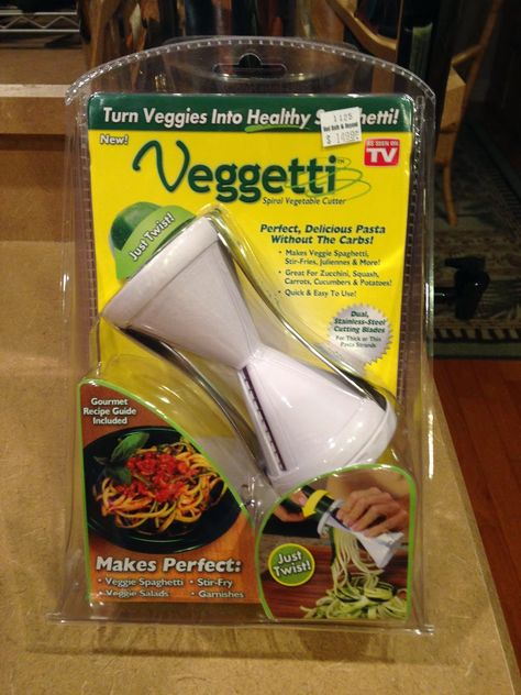 RAW Living and Learning: Got a Veggetti?? - it has a good recipe pin the article.